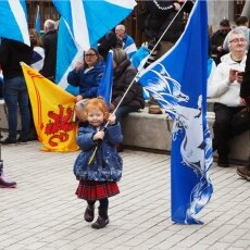 Edinburgh independence march 07