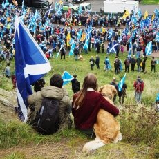 Edinburgh independence march 11