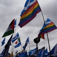 Edinburgh independence march 12
