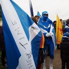 Edinburgh independence march 14