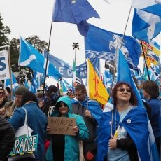 Edinburgh independence march 17
