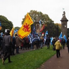 Edinburgh independence march 18