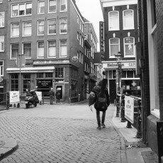 Amsterdam city centre empty 02