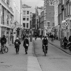 Amsterdam city centre empty 08