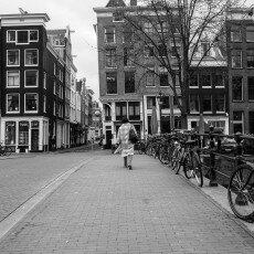 Amsterdam city centre empty 10