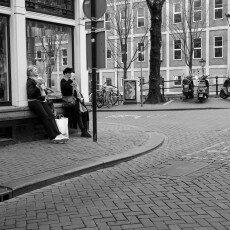 Amsterdam city centre empty 11