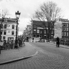 Amsterdam city centre empty 16