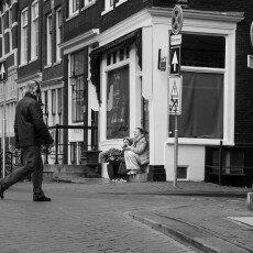 Amsterdam city centre empty 17