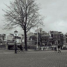 Amsterdam city centre empty 20