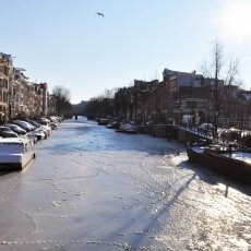 Frozen Canals Amsterdam 06