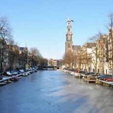 Frozen Canals Amsterdam 07