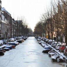 Frozen Canals Amsterdam 12