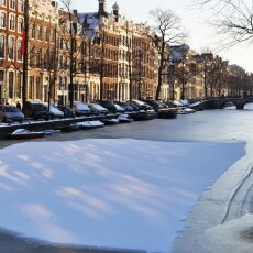Frozen Canals Amsterdam 13