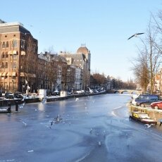 Frozen Canals Amsterdam 14