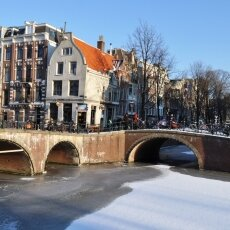Frozen Canals Amsterdam 16