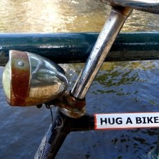 Hug a bike