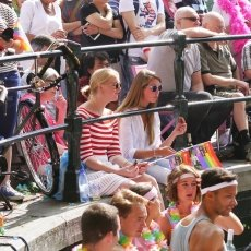 Gay Pride - the audience 16
