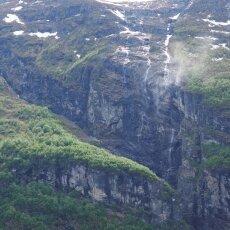 Waterfalls of Geirangerfjord 02