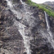 Waterfalls of Geirangerfjord 03