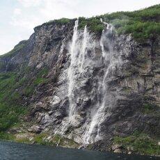 Waterfalls of Geirangerfjord 04