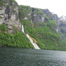 Waterfalls of Geirangerfjord 05