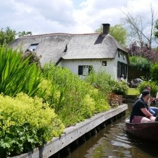 Giethoorn - the tourists 04