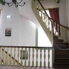 The stairways