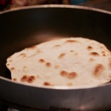 Making of chapatti