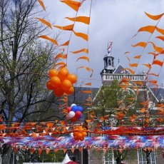 King\'s Day decorations
