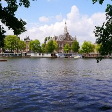 Amstel River, view towards the other side
