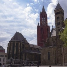 The red tower of Sint Janskerk
