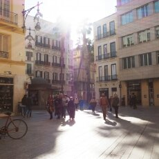 Málaga in February 14