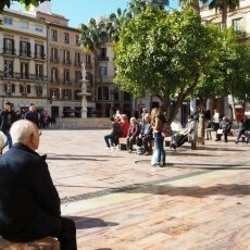Málaga in February 19