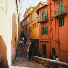 October in Menton, France 16