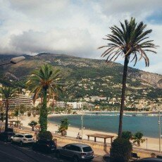 October in Menton, France 20