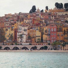October in Menton, France 25