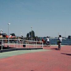 Westerdok Ferry stop 01