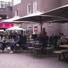 Open air café