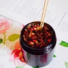 Bio cosmetics - preparing rose infused oil