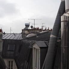 Paris in May - roofs