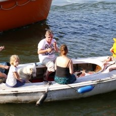 People and boats 16
