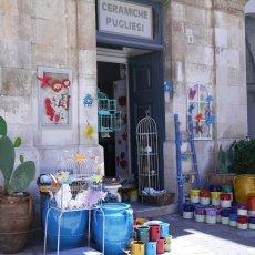 A ceramic shop
