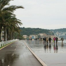 Rainy day in Nice 01