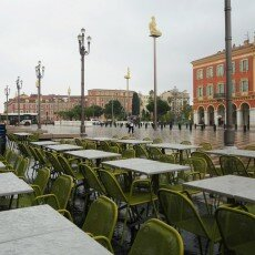 Rainy day in Nice 12