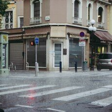 Rainy day in Nice 13