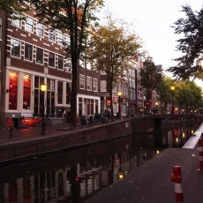 Early morning in the Red Light District 01