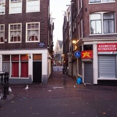Early morning in the Red Light District 04
