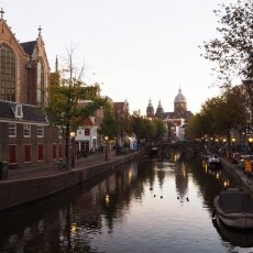 Early morning in the Red Light District 07