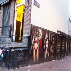 Early morning in the Red Light District 08