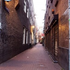 Early morning in the Red Light District 09